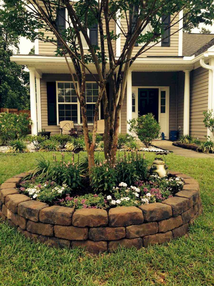 Simple and beautiful front yard landscaping ideas (11)