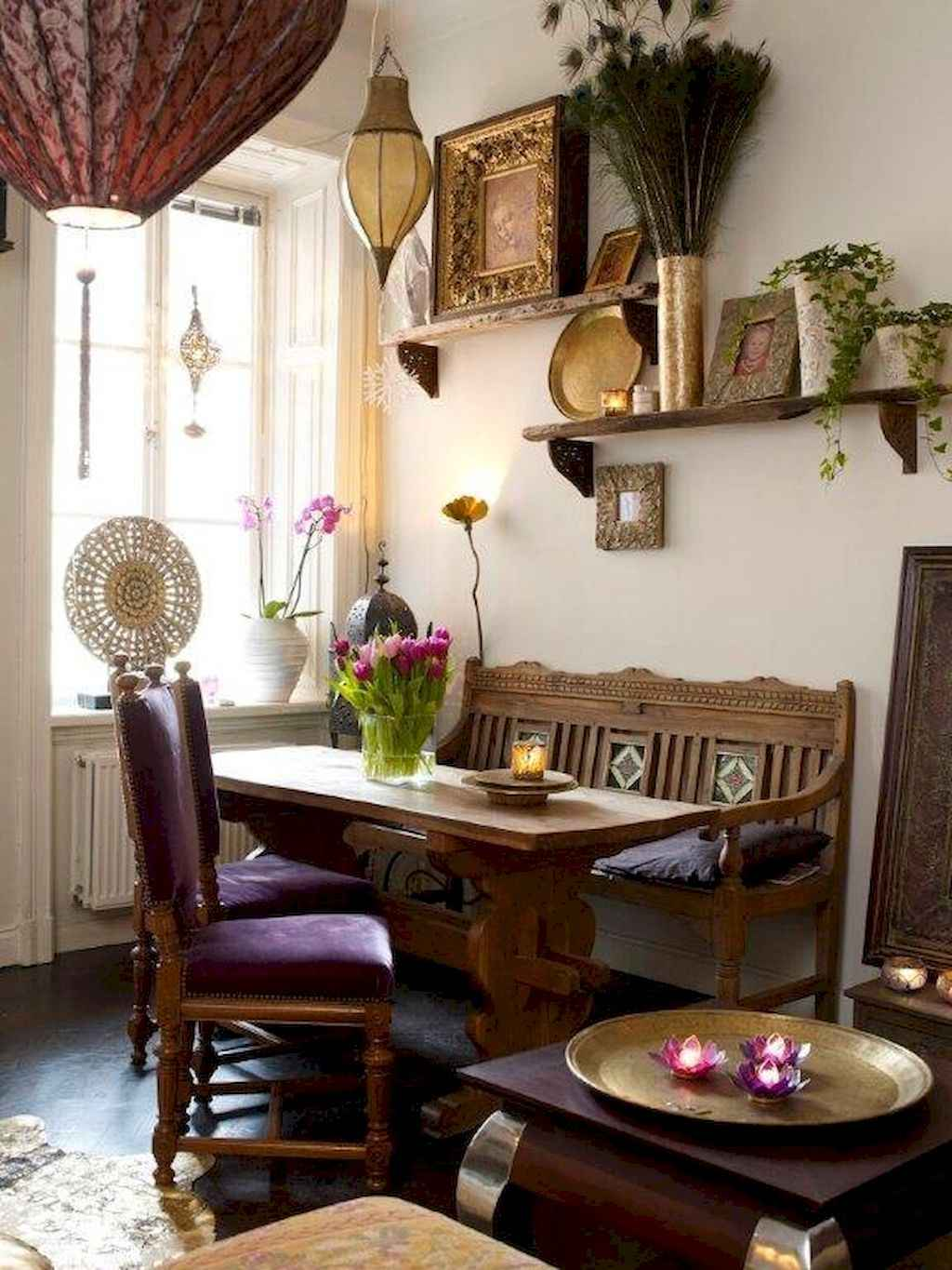 Small dining room table and chair ideas on a budget (20)