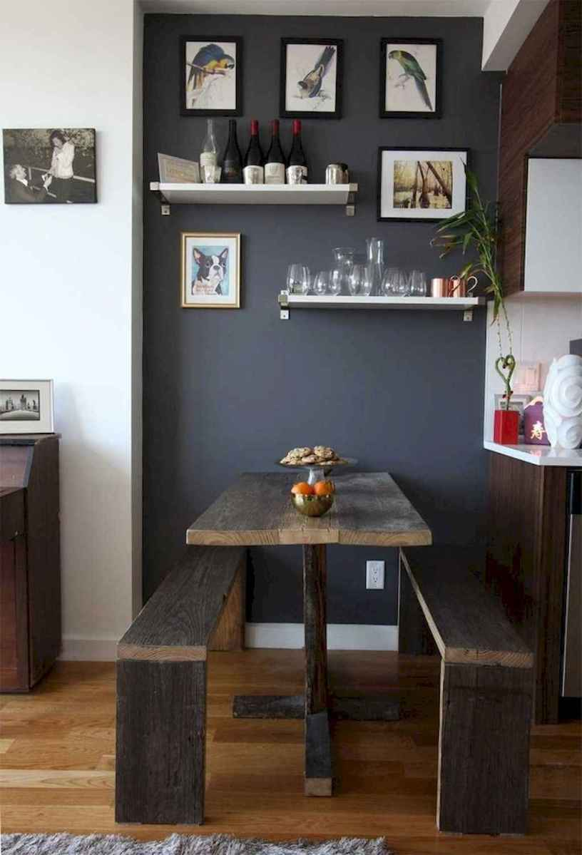 Small dining room table and chair ideas on a budget (27)