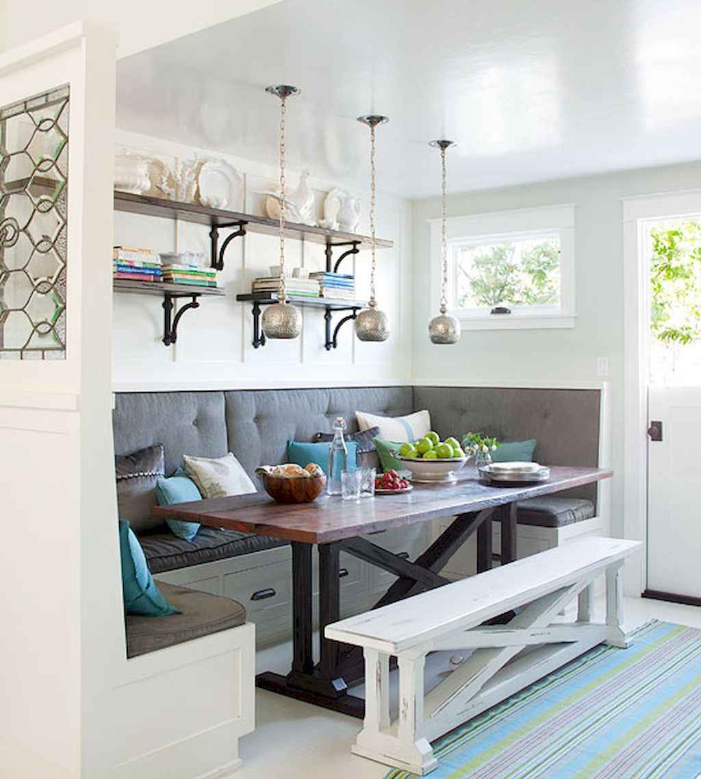 Small dining room table and chair ideas on a budget (34)