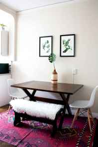 Small dining room table and chair ideas on a budget (40)