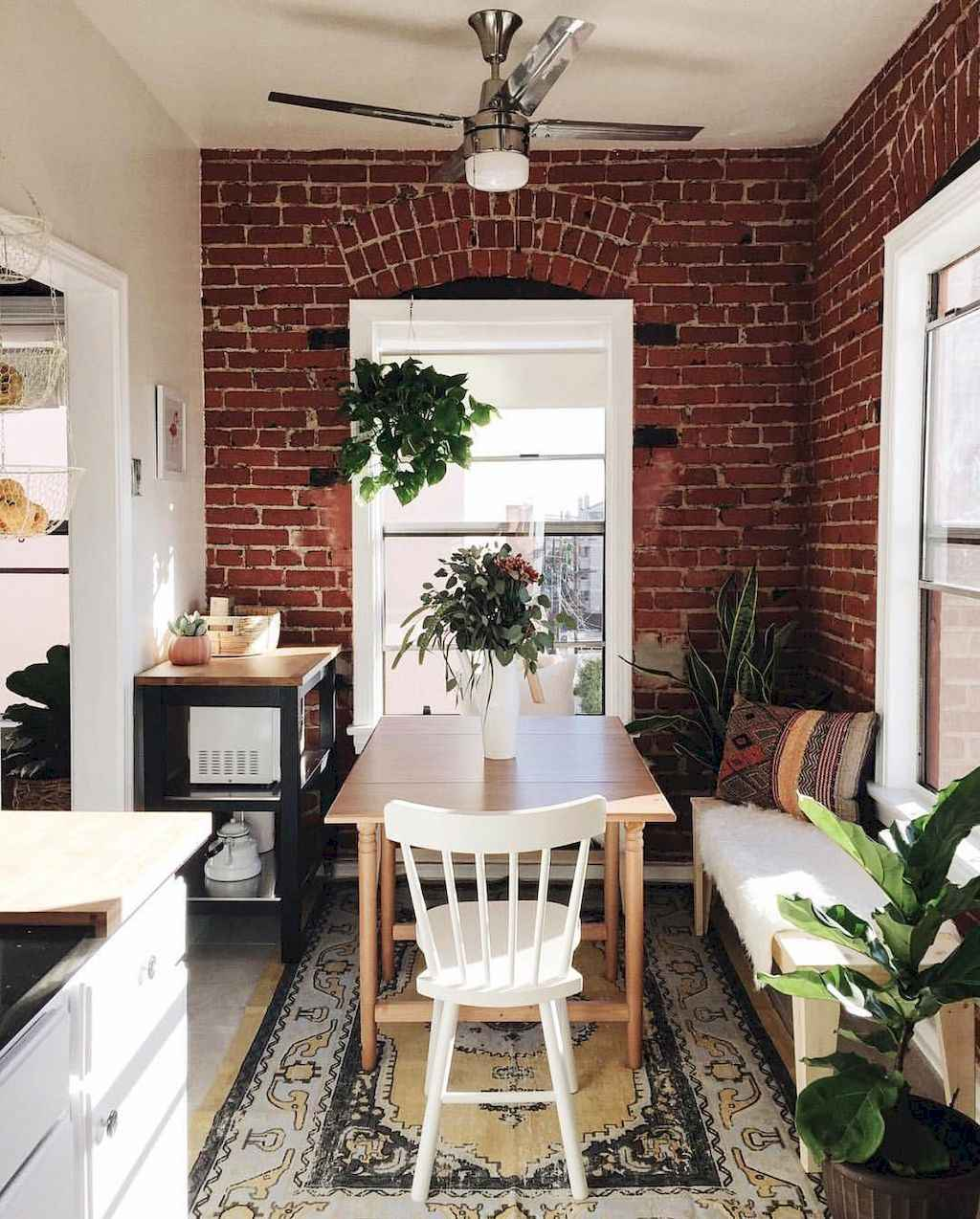 Small dining room table and chair ideas on a budget (41)