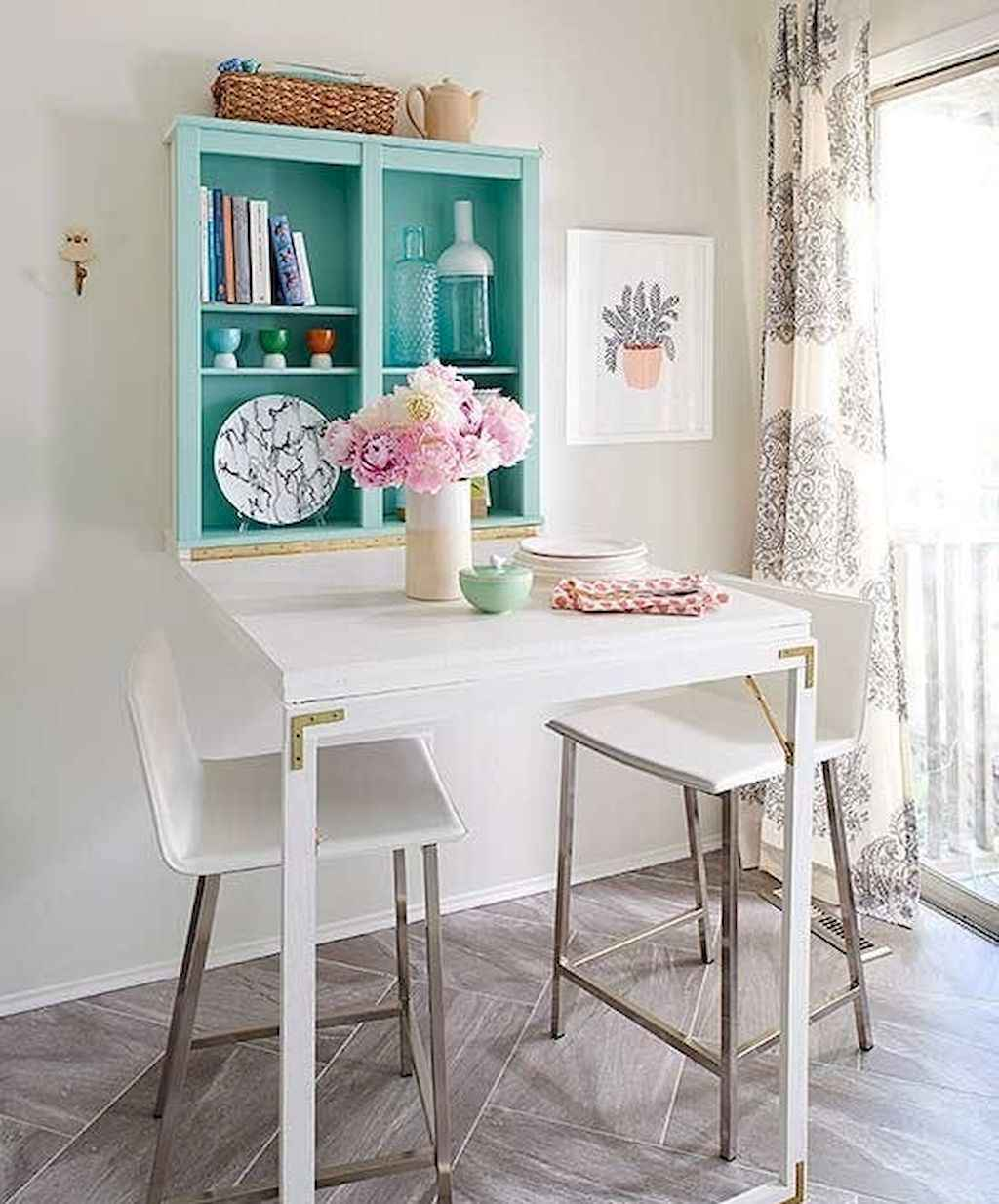 Small dining room table and chair ideas on a budget (45)