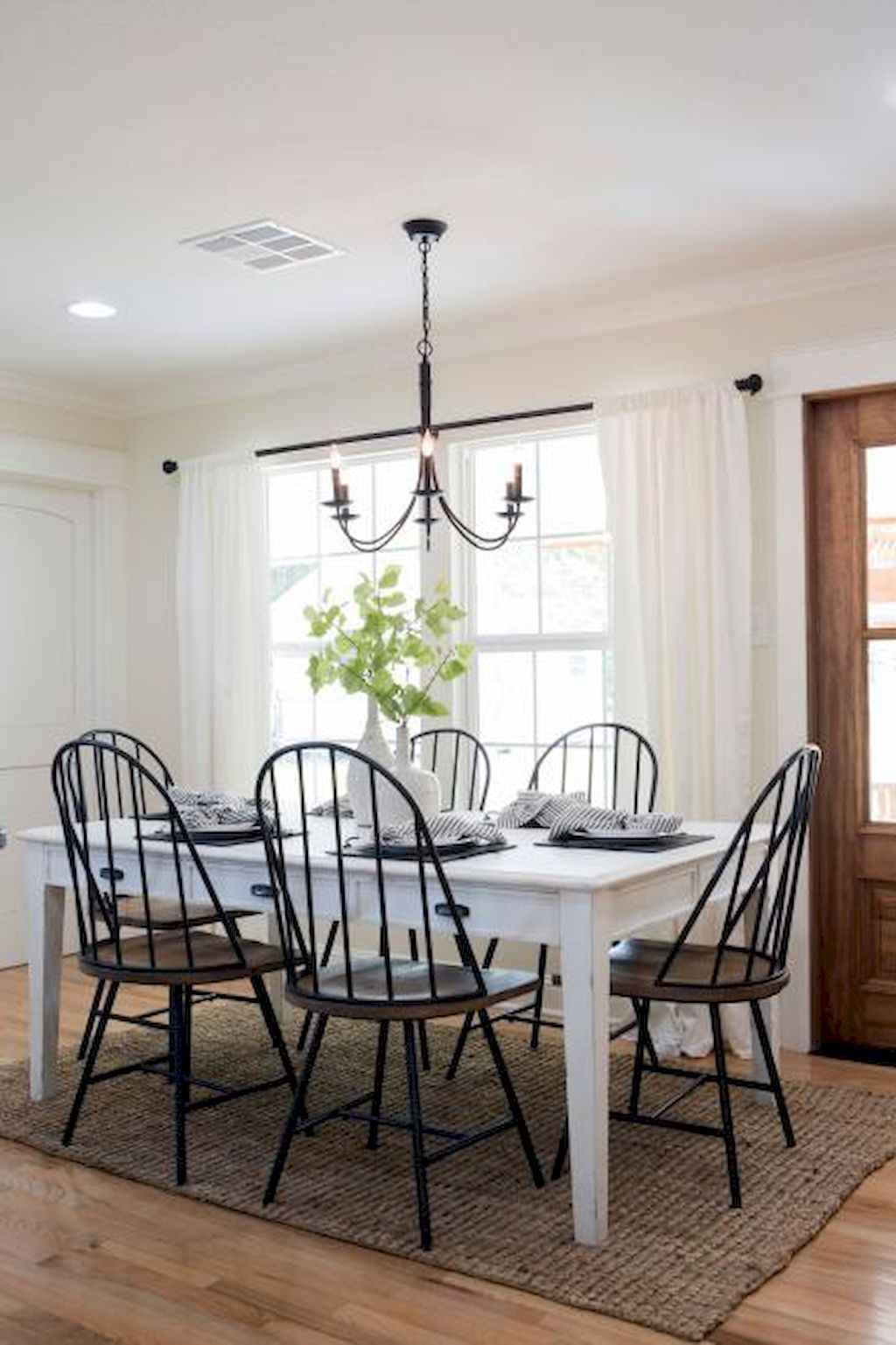 Small dining room table and chair ideas on a budget (50)