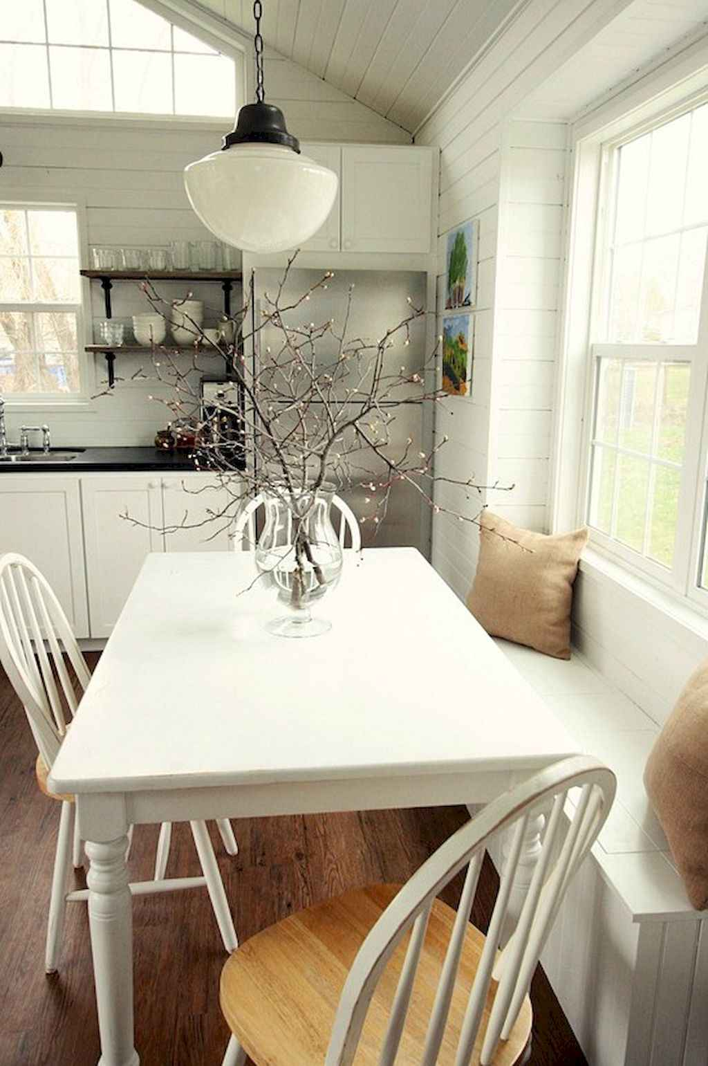 Small dining room table and chair ideas on a budget (58)