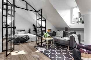 Stylish scandinavian style apartment decor ideas (28)