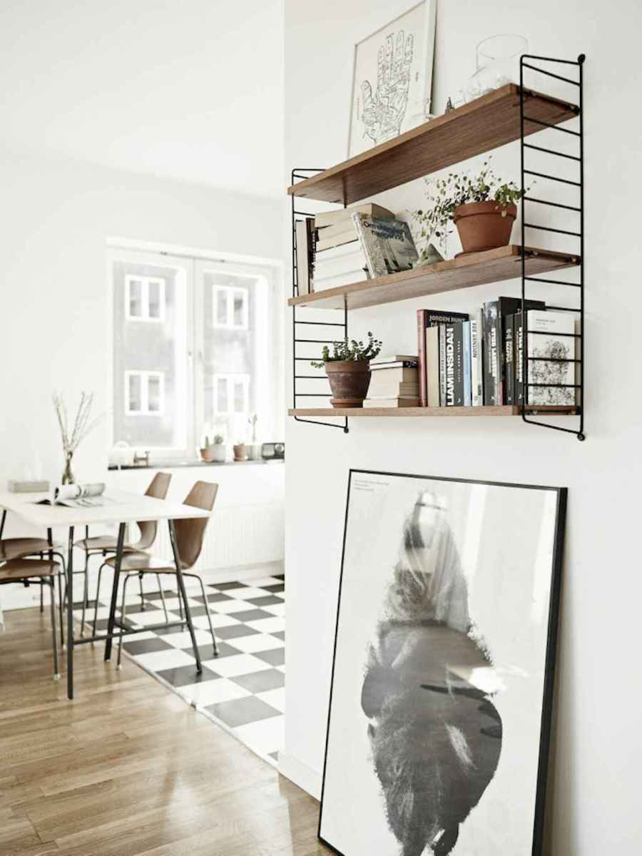 Stylish scandinavian style apartment decor ideas (43)