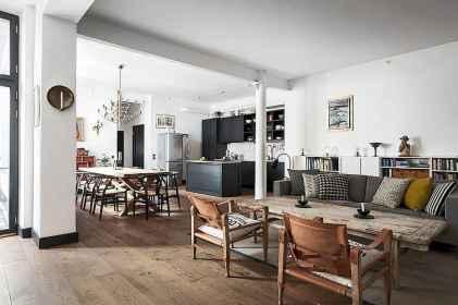 Stylish scandinavian style apartment decor ideas (44)