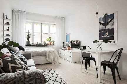 Stylish scandinavian style apartment decor ideas (77)