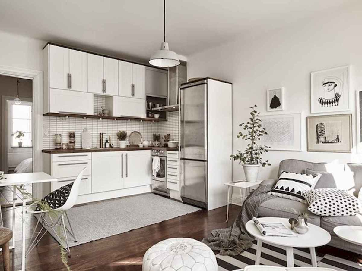 Stylish scandinavian style apartment decor ideas (93)