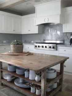 Stylish and inspired farmhouse kitchen island ideas and designs (22)