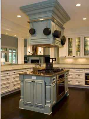 Stylish and inspired farmhouse kitchen island ideas and designs (23)