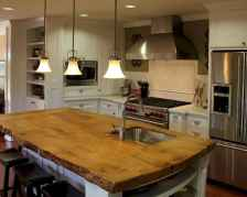 Stylish and inspired farmhouse kitchen island ideas and designs (3)