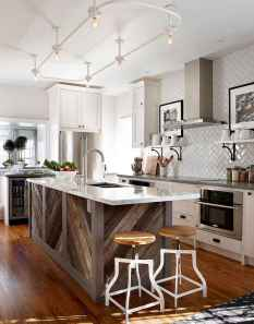 Stylish and inspired farmhouse kitchen island ideas and designs (33)
