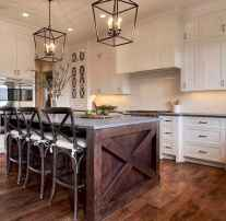 Stylish and inspired farmhouse kitchen island ideas and designs (48)