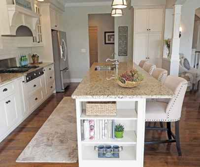 Stylish and inspired farmhouse kitchen island ideas and designs (51)