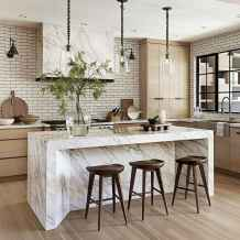 Stylish and inspired farmhouse kitchen island ideas and designs (53)