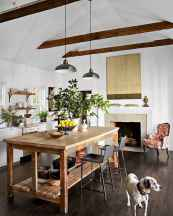 Stylish and inspired farmhouse kitchen island ideas and designs (64)