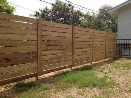 Wooden privacy fence patio & garden ideas (42)