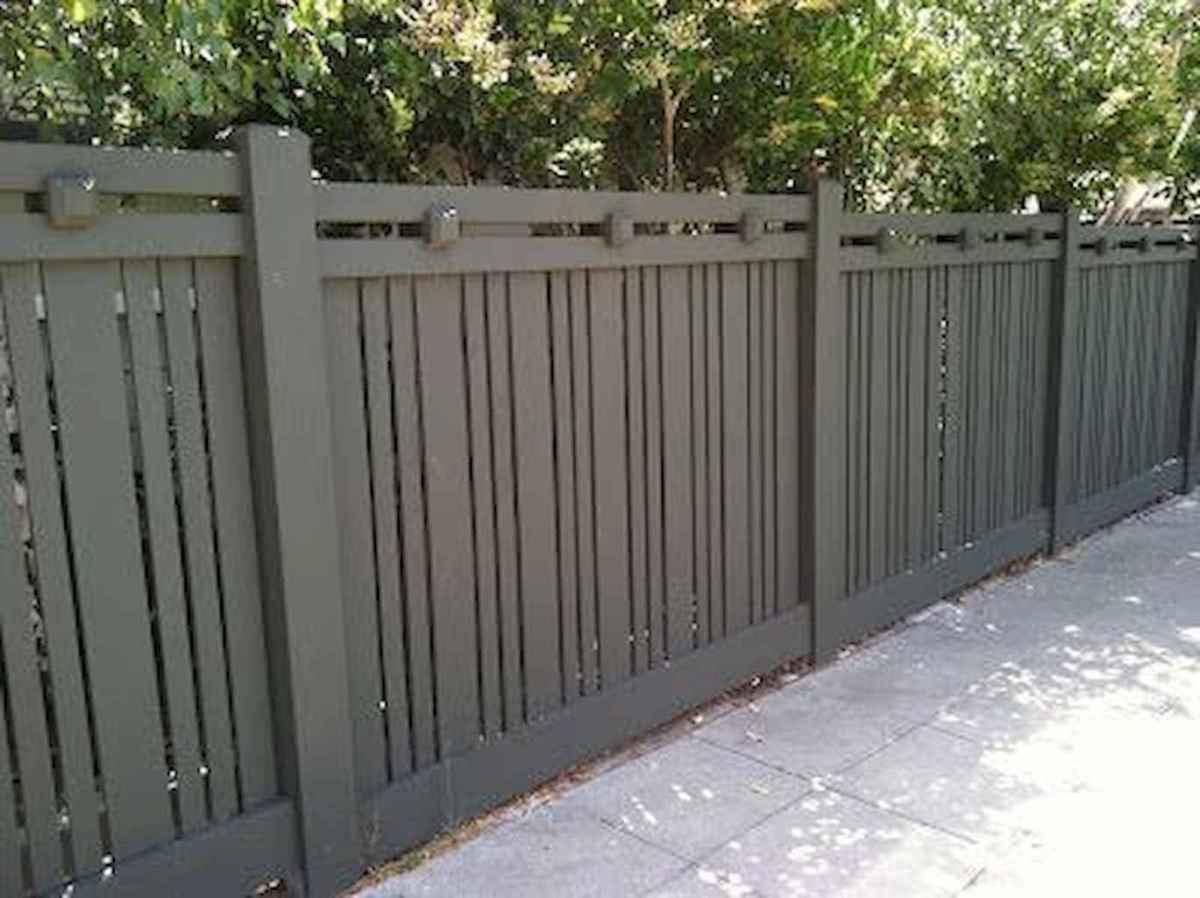 Wooden privacy fence patio & garden ideas (45)