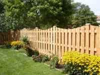 Wooden privacy fence patio & garden ideas (46)