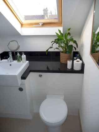 Attic bathroom makeover ideas on a budget (29)