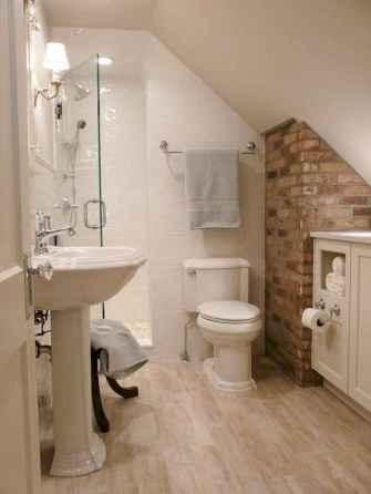 Attic bathroom makeover ideas on a budget (59)