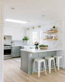 Clever small kitchen remodel and open shelves ideas (20)