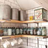 Clever small kitchen remodel and open shelves ideas (27)