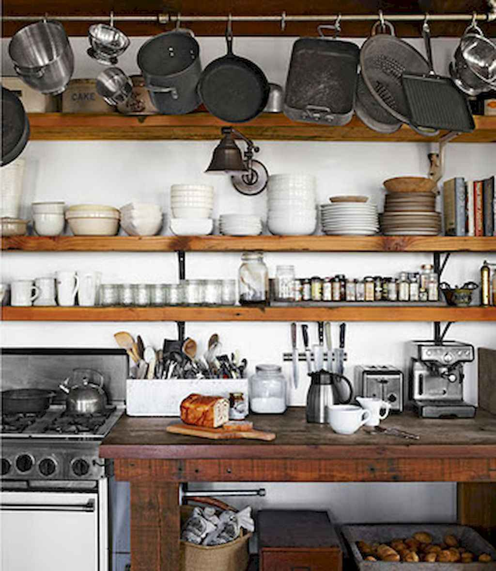 Clever small kitchen remodel and open shelves ideas (3)