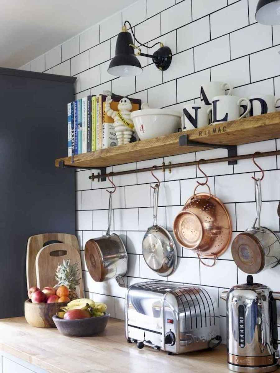 Clever small kitchen remodel and open shelves ideas (32)