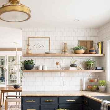 Clever small kitchen remodel and open shelves ideas (38)