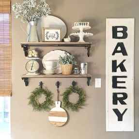 Clever small kitchen remodel and open shelves ideas (57)