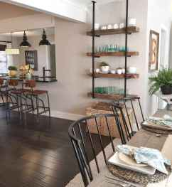 Clever small kitchen remodel and open shelves ideas (6)
