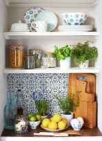 Clever small kitchen remodel and open shelves ideas (9)