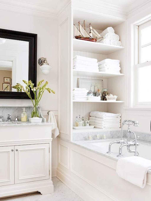Cool bathroom storage shelves organization ideas (56)