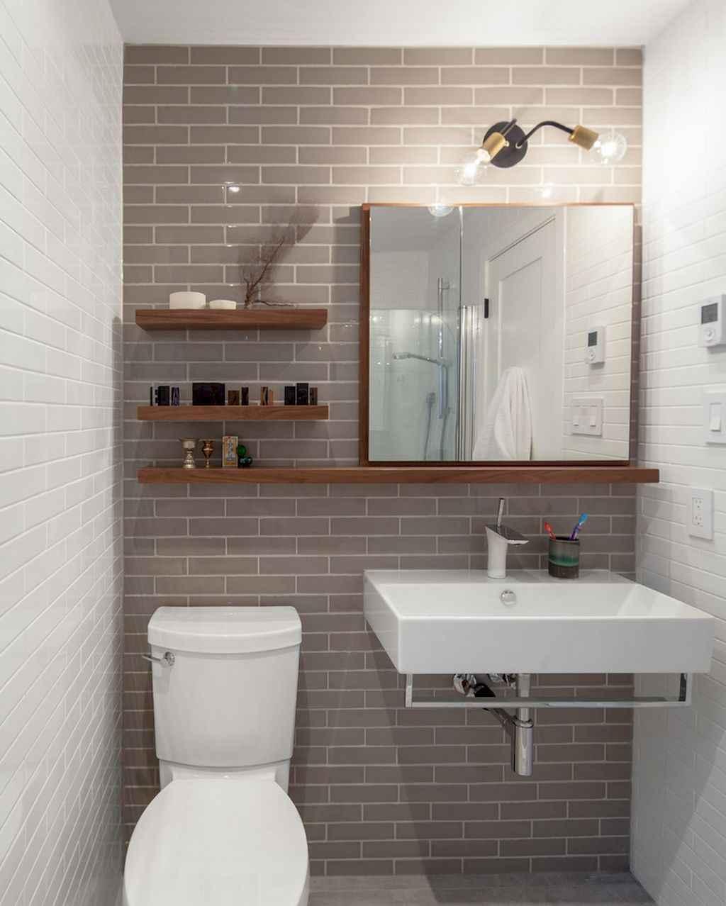 Cool bathroom storage shelves organization ideas (58)