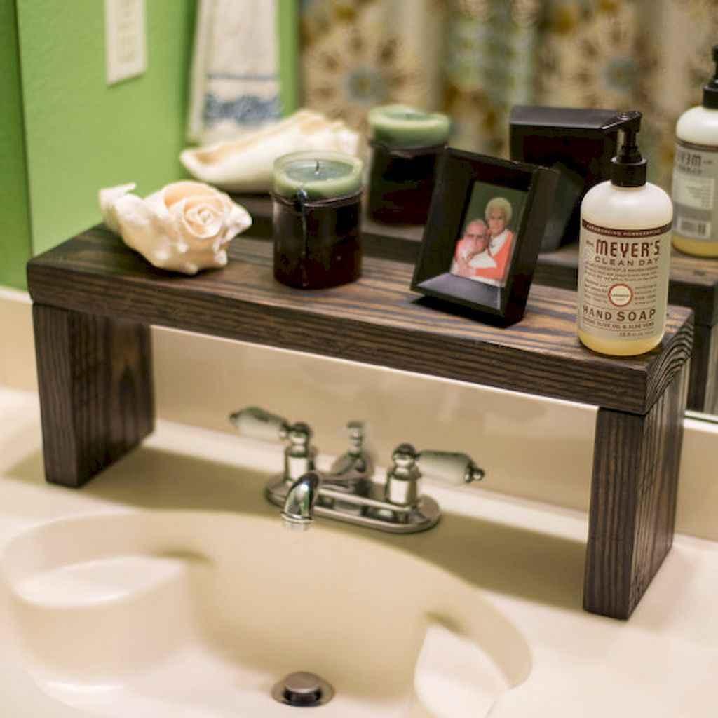 Cool bathroom storage shelves organization ideas (59)