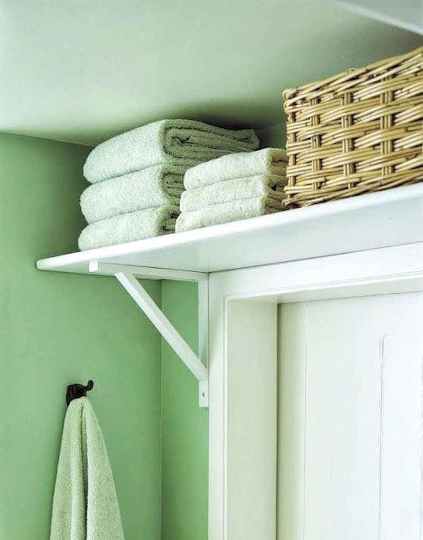 Cool bathroom storage shelves organization ideas (61)