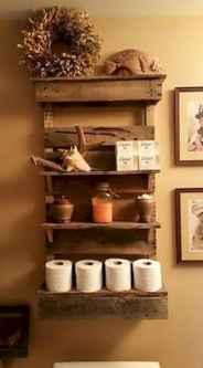 Cool bathroom storage shelves organization ideas (7)
