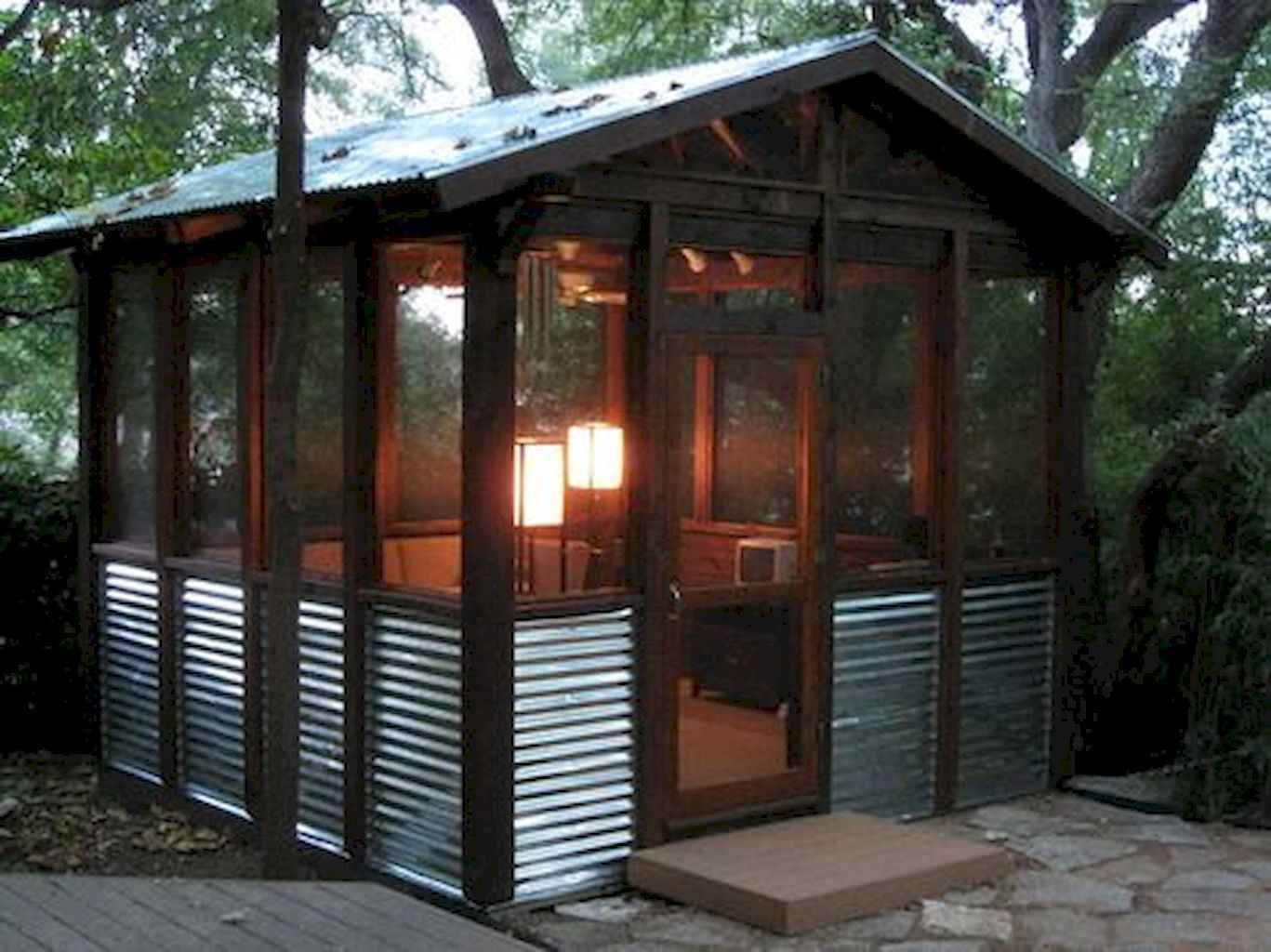 Cool diy backyard studio shed remodel design & decor ideas (17)