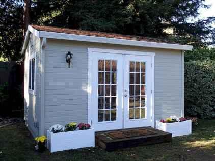Cool diy backyard studio shed remodel design & decor ideas (25)
