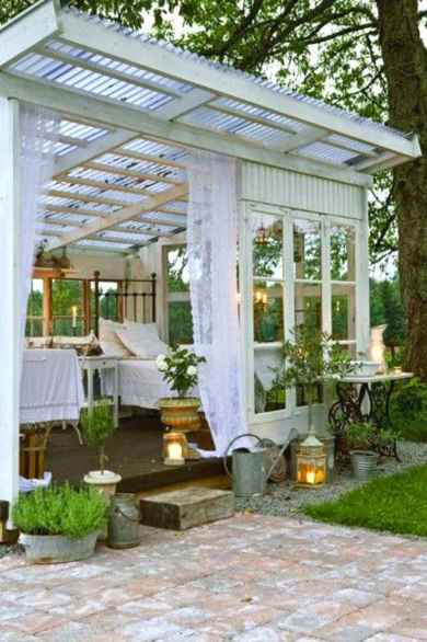 Cool diy backyard studio shed remodel design & decor ideas (30)