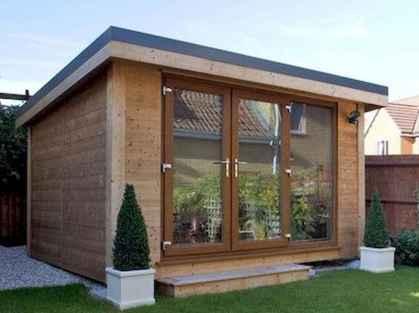 Cool diy backyard studio shed remodel design & decor ideas (35)