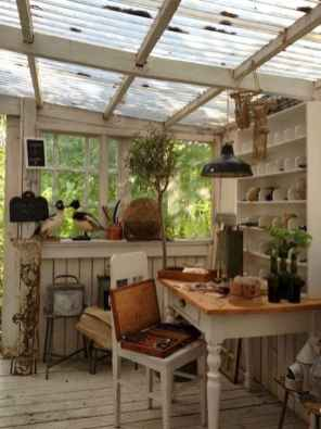 Cool diy backyard studio shed remodel design & decor ideas (39)