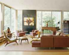 Cool mid century living room decor ideas (31)