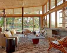 Cool mid century living room decor ideas (35)