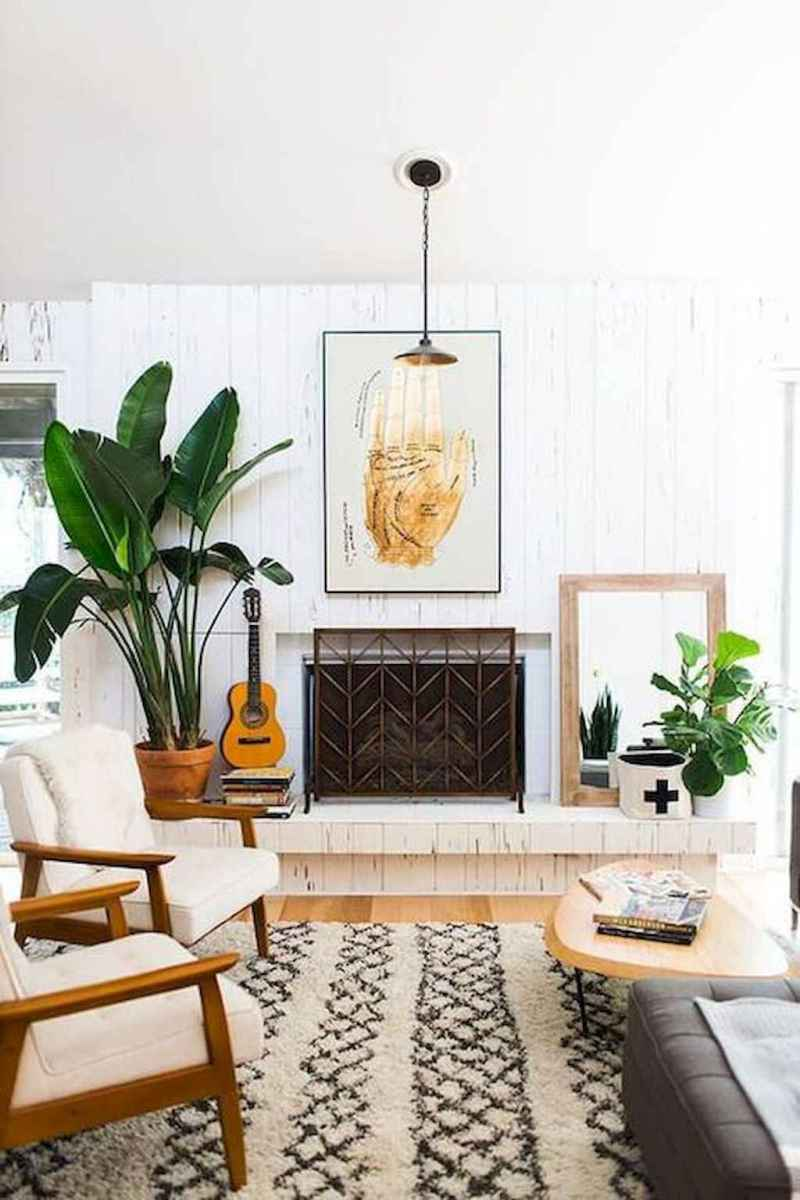Cool mid century living room decor ideas (38)