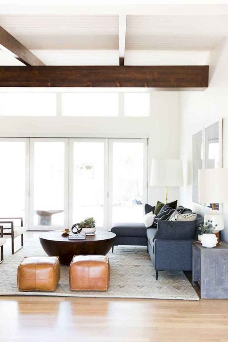 Cool mid century living room decor ideas (40)