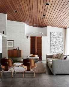 Cool mid century living room decor ideas (45)